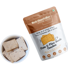 Oat Flax Seed Cracker